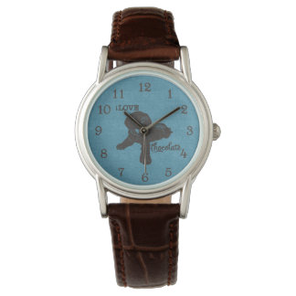 APAL - Hundeliebhaber-Uhr Schokoladen-Labradors | Armbanduhr