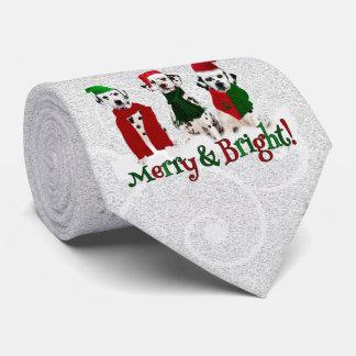 APAL - Weihnachtsdalmatinische Hunde im Schnee Krawatte