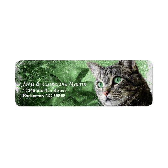 APAL - Weihnachtssilberne Tabby-Katze