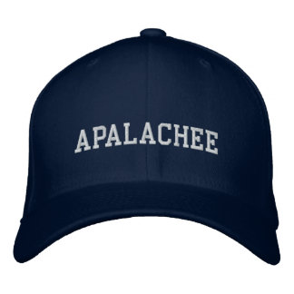 Apalachee amerikanischer Ureinwohner Besticktes Cap