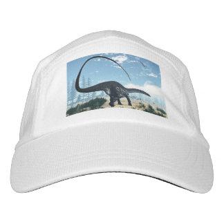Apatosaurusdinosaurier in der Wüste - 3D Headsweats Kappe
