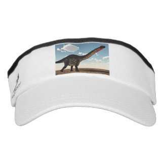Apatosaurusdinosaurier in der Wüste - 3D Visor