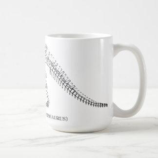 Apatosaurusskelett Kaffeetasse