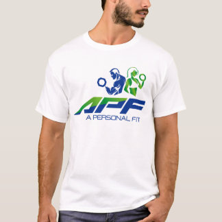 APF-Logo auf Front T-Shirt