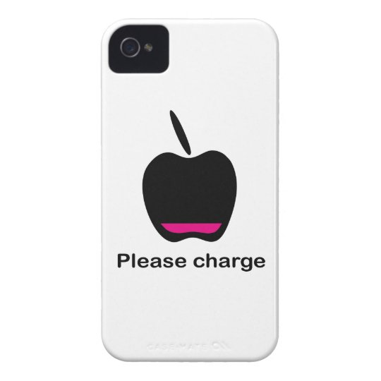 Apfel Akku leer iPhone 4 Cover