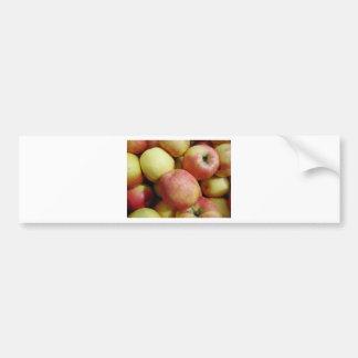 Äpfel Autoaufkleber