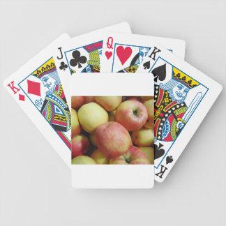 Äpfel Bicycle Spielkarten
