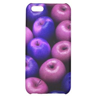 Äpfel blau u. rosa iPhone 5C hülle