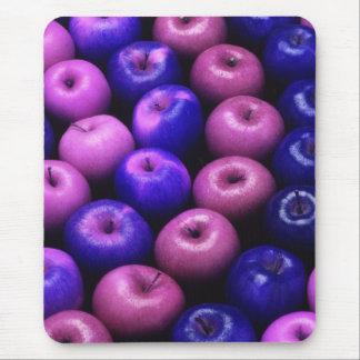Äpfel blau u. rosa mauspads