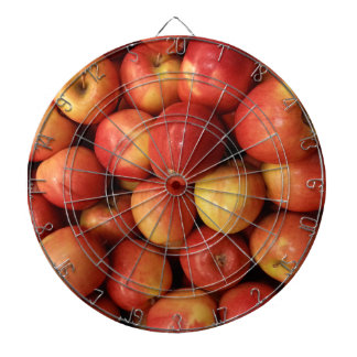 Äpfel Dartscheibe