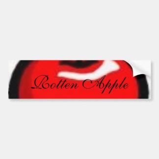 Apfel, faules Apple Autoaufkleber