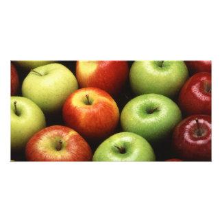 Äpfel Photokarte