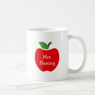 Äpfel für Lehrer Kaffeetasse