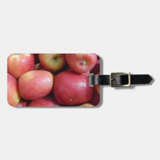 Äpfel Gepäckanhänger