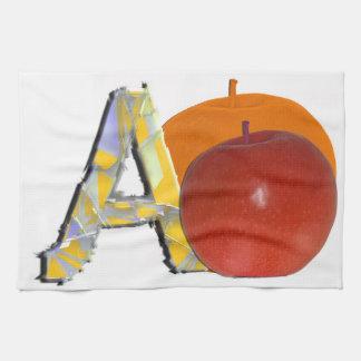Äpfel Handtücher