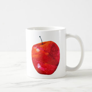 Apfel Kaffeetasse