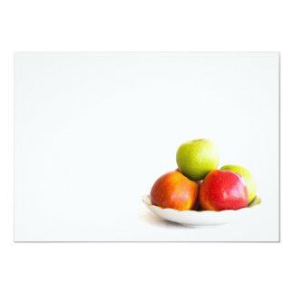 Äpfel Karte