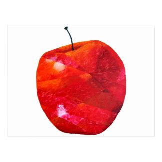 Apfel Postkarte