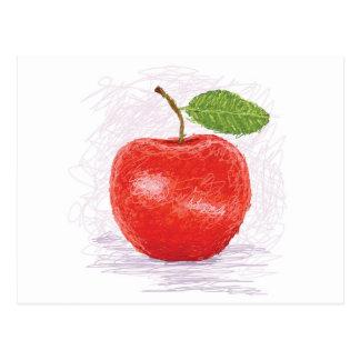 Apfel Postkarten