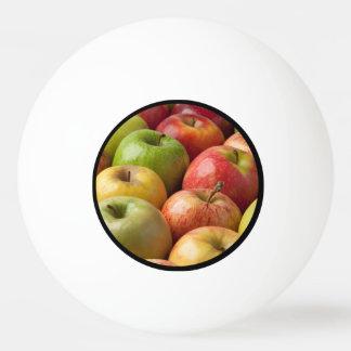 Äpfel - reif u. bunt tischtennis ball
