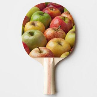 Äpfel - reif u. bunt tischtennis schläger