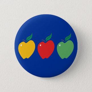 Äpfel Runder Button 5,7 Cm