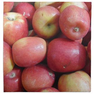 Äpfel Stoffserviette