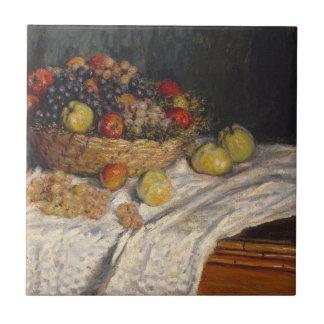 Äpfel und Trauben Keramikfliese