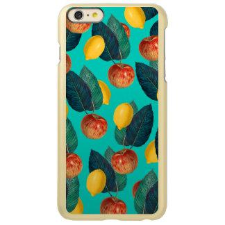 Äpfel und Zitronen aquamarin