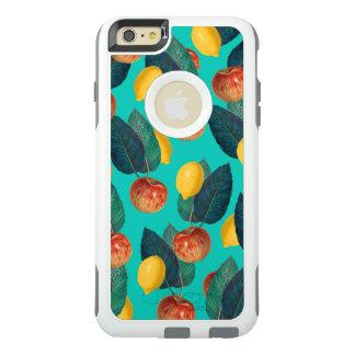 Äpfel und Zitronen aquamarin OtterBox iPhone 6/6s Plus Hülle