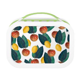 Äpfel und Zitronen Brotdose