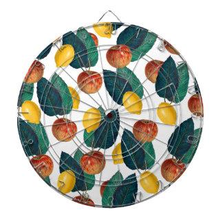 Äpfel und Zitronen Dartscheibe