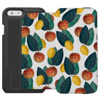 Äpfel und Zitronen Incipio Watson™ iPhone 6 Geldbörsen Hülle