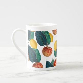 Äpfel und Zitronen Porzellantasse