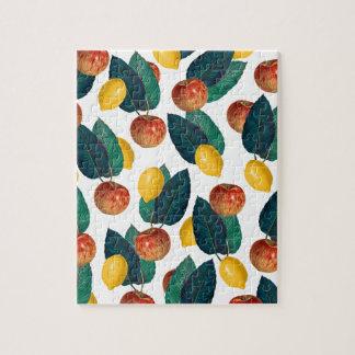 Äpfel und Zitronen Puzzle