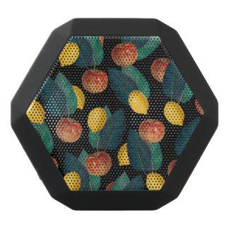 Äpfel und Zitronenschwarzes Schwarze Bluetooth Lautsprecher