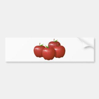 Äpfel - WOWCOCO Autoaufkleber