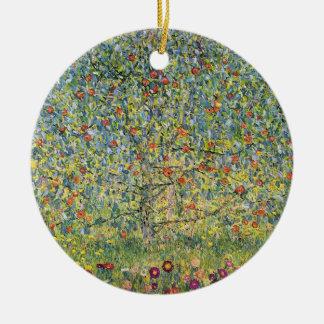 Apfelbaum durch Gustav Klimt, Vintage Kunst Keramik Ornament