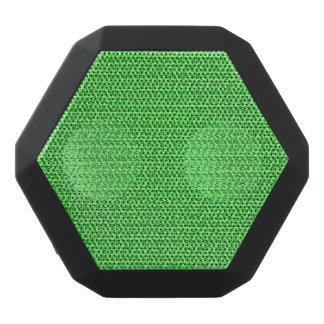Apfelgrüner Webart-Maschen-Blick Schwarze Bluetooth Lautsprecher