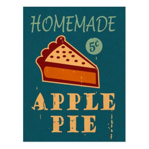Apfelkuchen Postkarten