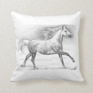 Apfelschimmel - Dappled Grey Horse Kissen