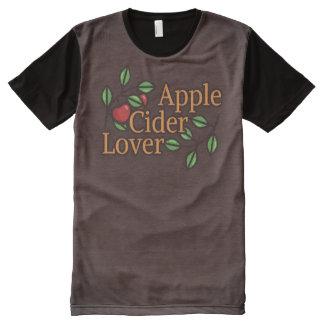 Apfelwein-Liebhaber T-Shirt Mit Komplett Bedruckbarer Vorderseite