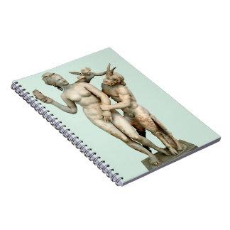 Aphrodite, Pan und Eros Notizblock