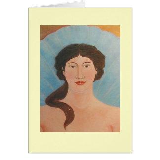 Aphroditebodhisattva-Ikone Karte