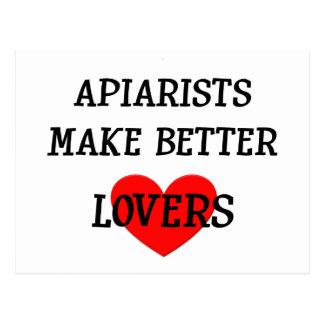 Apiarists machen bessere Liebhaber Postkarte
