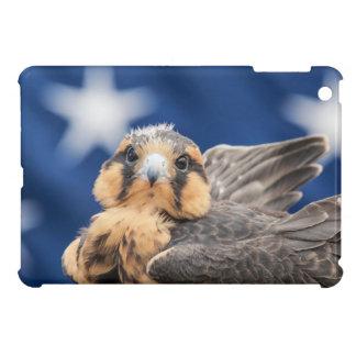Aplomado Falke mit Flagge iPad Mini Hülle