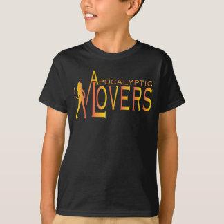 Apokalyptische Liebhaber-Kindert-stück Front nur T-Shirt