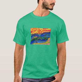 Apokalyptischer Sonnenuntergang T-Shirt
