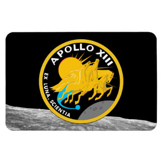 Apollo 13 die NASA-Auftrag-Flecken-Logo Magnet
