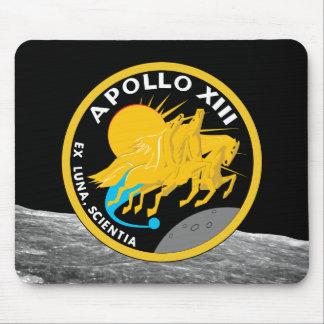 Apollo 13 die NASA-Auftrag-Flecken-Logo Mousepad